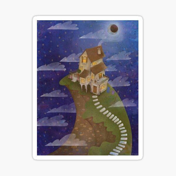 Moonlight Hill Sticker