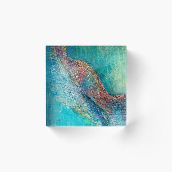 Hidden Depths (Frag 3) Acrylic Block