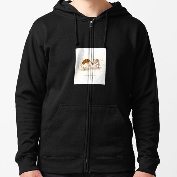 Cattism 13: Network With Others Zipped Hoodie