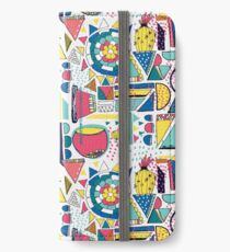 Modern Pop Art iPhone Wallet