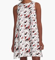 Splat A-Line Dress