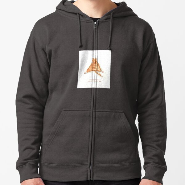 Cattism 9: Nevermind What Others Think of You Zipped Hoodie