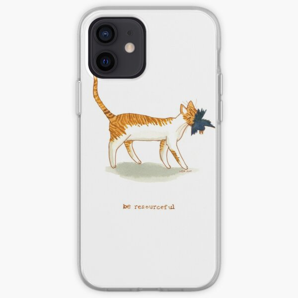 cattism 8: be resourceful iPhone Soft Case