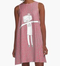blahblahblah A-Line Dress