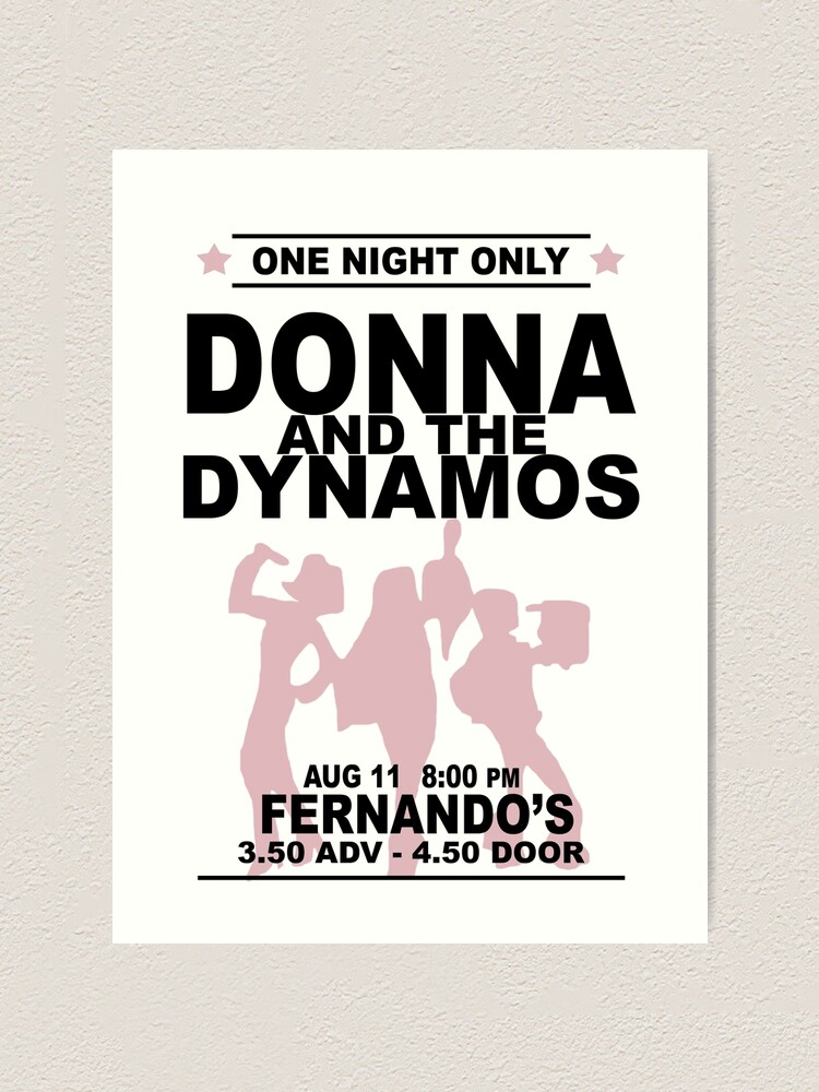 Alternate view of Donna and the Dynamos Art Print