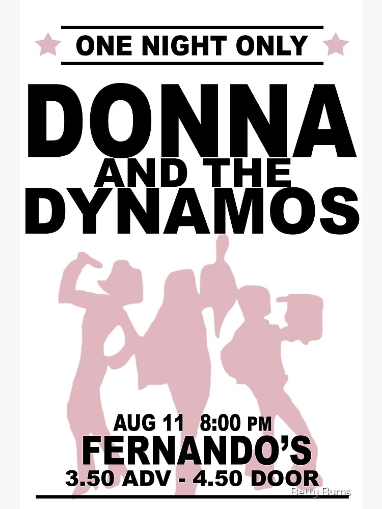 Donna and the Dynamos by betsburns
