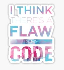 Flaw Sticker