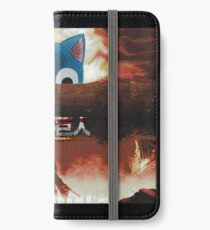 Attack on Titan - Attack on Happy iPhone Wallet/Case/Skin