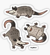 Simply Opossum Sticker