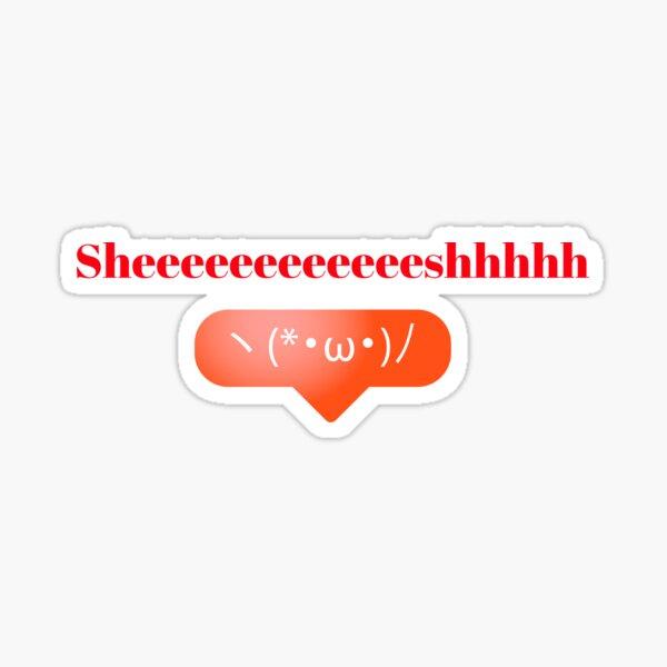Sheeeeeeeeeeeeeeeeshhhh math Sticker