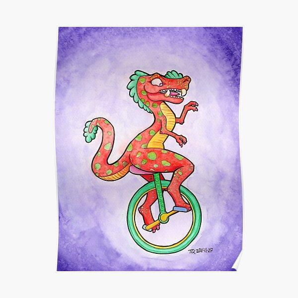 Unicyclesaurus Poster