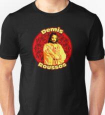 Demis Roussos - mythic Greek singer , amazing design! Unisex T-Shirt