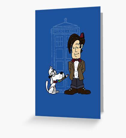 Sherman Who? Greeting Card