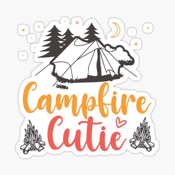 Campfire cutie Sticker