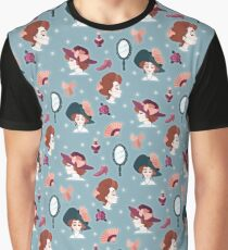 Edwardian Ladies Graphic T-Shirt