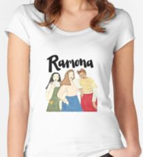 Ramona Gals Women's Fitted Scoop T-Shirt