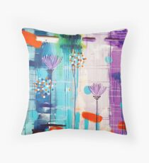 Summer In Bloom Throw Pillow