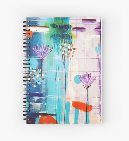 Summer In Bloom Spiral Notebook