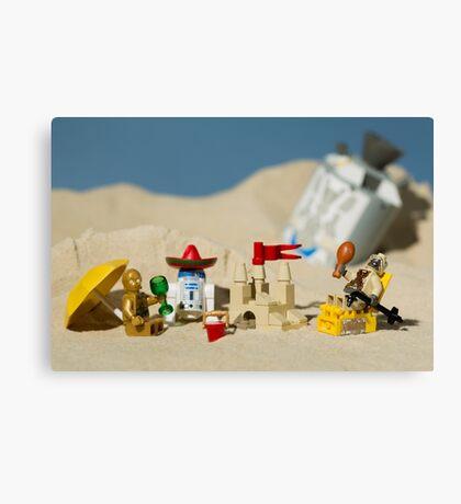 Lego Tatooine picnic Canvas Print