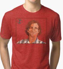 Kyle Mooney Illustrated Potrait Tri-blend T-Shirt
