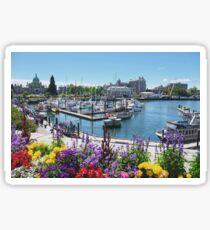 Beautiful Victoria Harbor Sticker