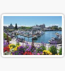 Beautiful Victoria Harbor Sticker