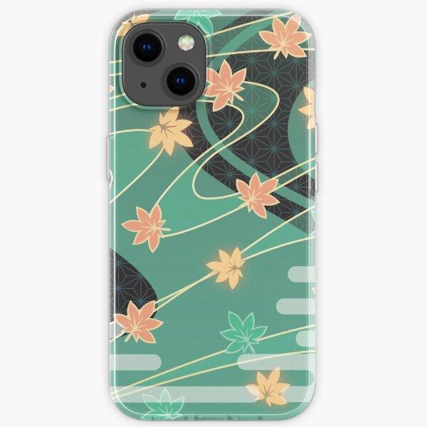 Genshin Impact - Kaedehara Kazuha Burst Pattern iPhone Flexible Hülle