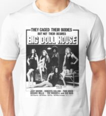 Big Doll House (Black & White) Unisex T-Shirt