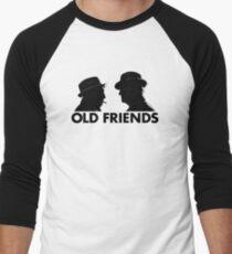 Old Friends Men's Baseball ¾ T-Shirt