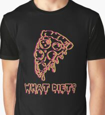 What Diet? Yellow & Red Graphic T-Shirt