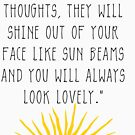 Gute Gedanken Roald Dahl Zitat von kjanedesigns