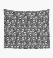 Black and White Soap Bubbles Wall Tapestry
