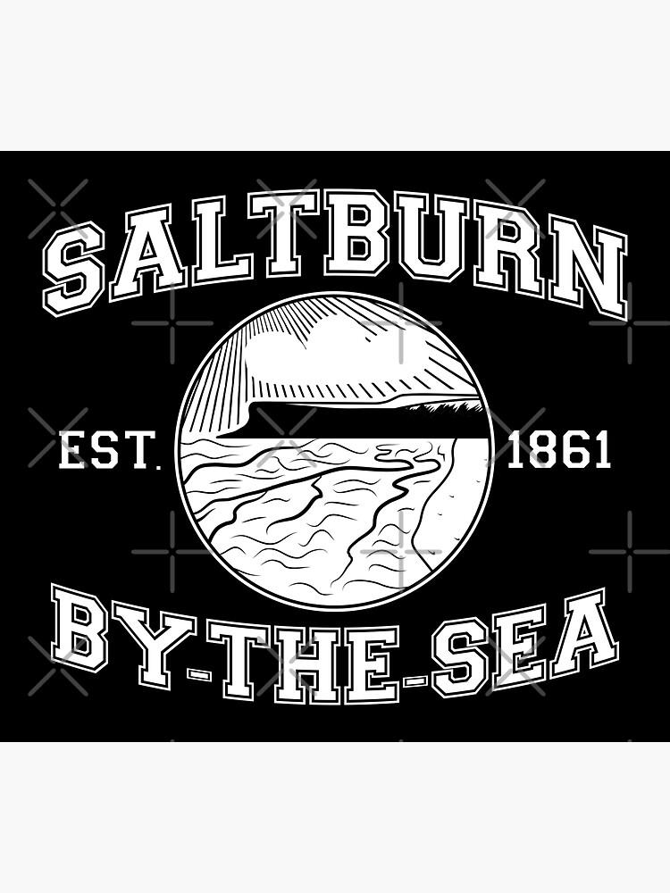 NDVH Saltburn-by-the-Sea Est 1861 (white print) by nikhorne