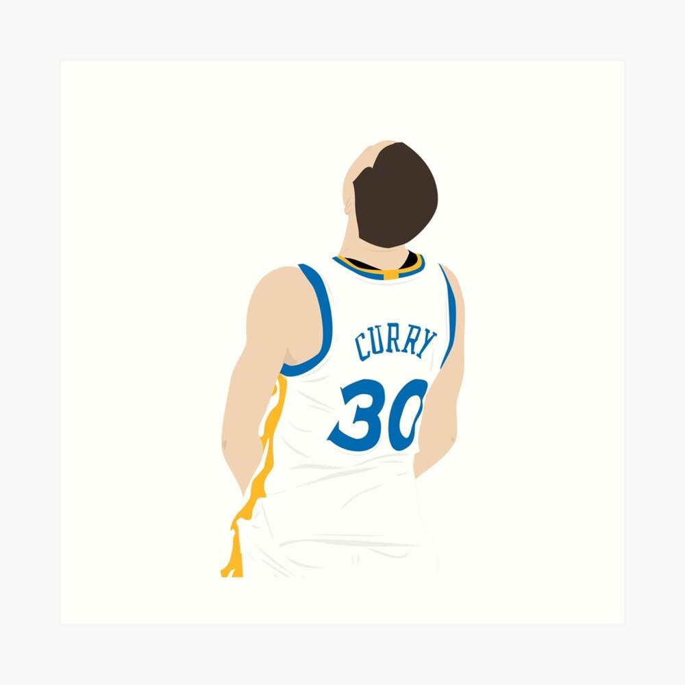 Stephen Curry Kunstdruck
