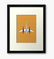 Star Fox - Flat Arwing Framed Print