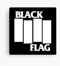 Black Flag Band Canvas Print