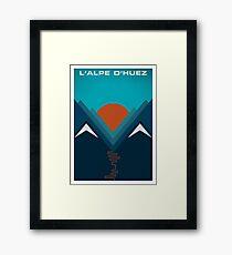 L'Alpe D'huez Framed Print