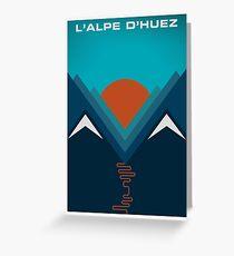 L'Alpe D'huez Grußkarte