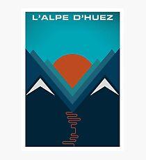 L'Alpe D'huez Fotodruck
