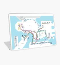 Hong Kong MTR Map 2016 Laptop Skin