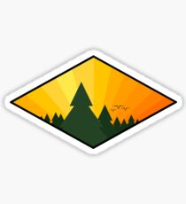 Pine Tree Sticker Sticker