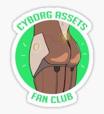 CYBORG ASSETS  Sticker