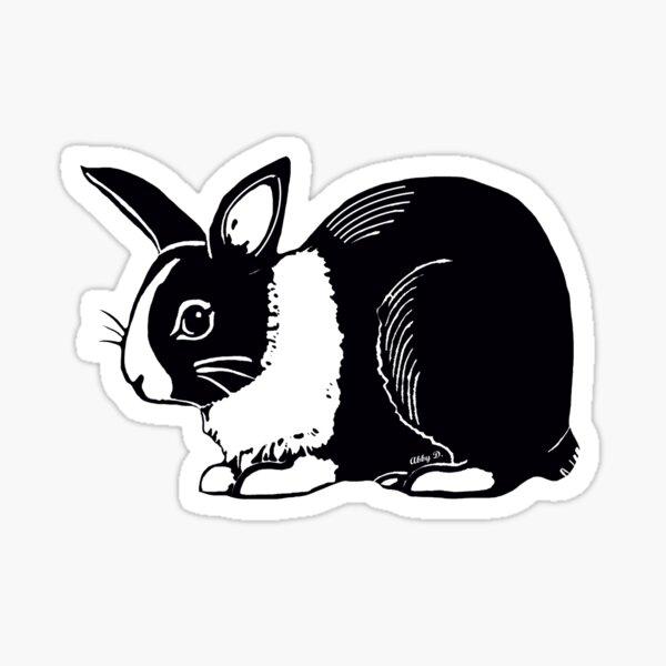 Dutch Rabbit Sticker