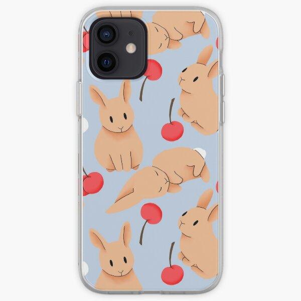 Cherry Bunny iPhone Soft Case