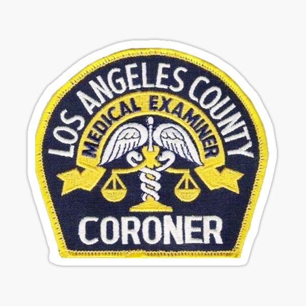 Los Angeles County Coroner Sticker