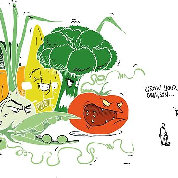 vegge color monsters... without contures..  by radovansensel