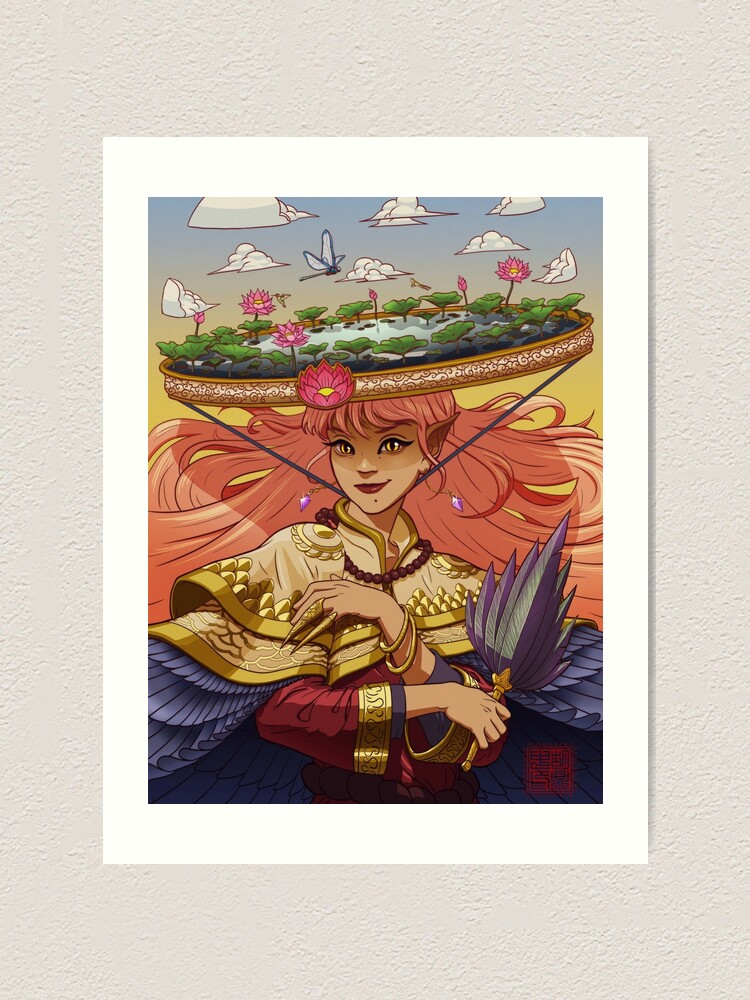 Alternate view of Sovereign of the Fae Art Print