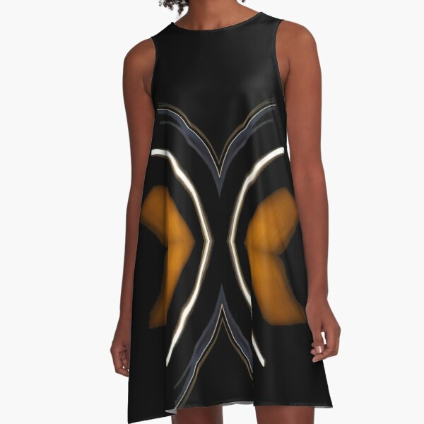 abstract 631 A-Line Dress
