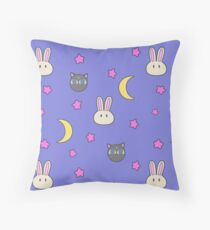 Sailor Moon R inspired Chibusa Luna-P Bedspread Blanket Print SuperS Version Throw Pillow
