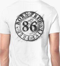 born-Free-live-Free (for white/light colours) T-Shirt